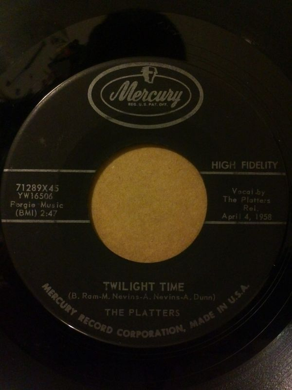 The Platters - Twilight Time / Out Of My Mind