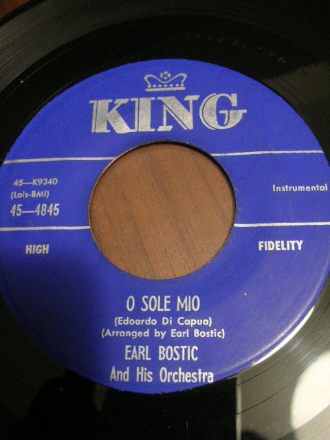 Earl bostic♪o sole mio♪ apple knocker